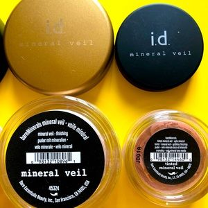 Bare Minerals Mineral Veil and Tinted Mineral Veil